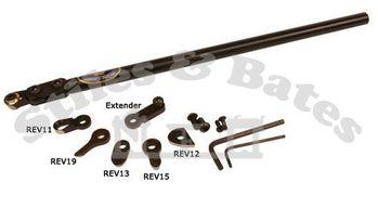Crown Hand Tools #REV07 Revolution Swan Neck Blade w// Egg Scraper